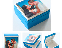 Photo Transfer Wooden Boxes
