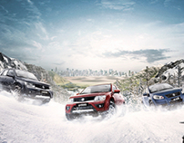 """Linea 4x4 Suzuki """"Nieve"""""""