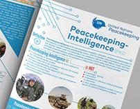 Peacekeeping Intelligence Brochure Design