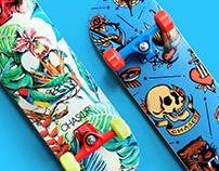 Skulls: Illustrations for Chaser Action Sports