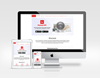 MTS landing page