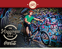 Coca-Cola Happiness Cycle poster