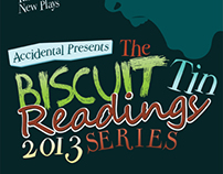 """The Biscuit Tin Readings"" Production Poster"
