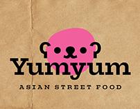 Branding for Asian street food restaurant