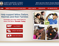 NMCRS Active Duty Fund Drive