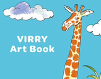 Coloring book for Virry app