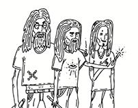 On Acid Illustrations