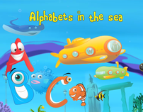 Alphabets in the Sea - iPad application