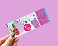 TICKET DESIGN: MOSAIC MUSIC FESTIVAL