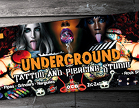 Underground Tattoo Suplies & Smoking Shop