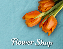 Flower Shop mobile app template