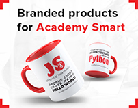 Branded products for Academy Smart