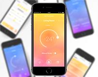 Smart Thermostat App - Concept