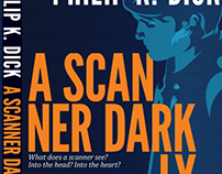 """A Scanner Darkly"" Book Cover Design"