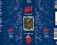 Pakning til Ali Kaffe