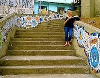 Sapopema Stairway Community Mosaic - Brazil