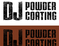 DJ Powder Coating - Logo Redesign