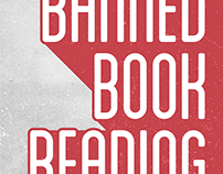 Banned Book Reading Poster