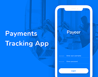 Payments Tracking App. Freebie