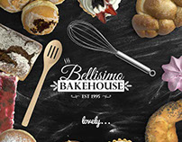Bellisimo Bakehouse - Website - Logo Design