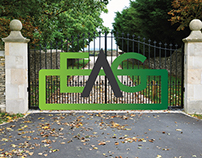 New Corporate Identity for an Electric Gate Company