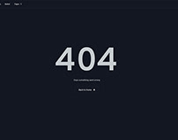 Error 404 Page | Free Download