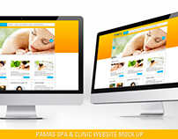 Website Pamas Clinic & Spa