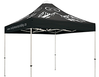 Event Canopies - Dye-Sublimation - Design & Production