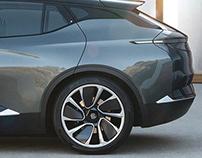 2018 Byton M-Byte Concept - Wheel design