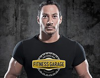 Brand concept for functional fitness- Fitness Garage