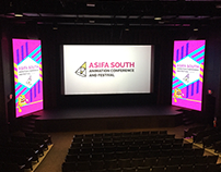 ASIFA SOUTH Animation Festival Branding