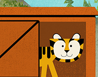 Zoo Train Puzzle App