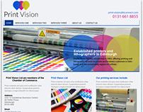 Printing Services Web Design