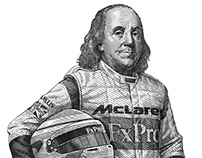 Franklin, the Formula 1 driver