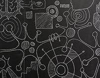 Chalk Wall Illustration