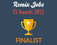 Remix Jobs CV Awards 2013