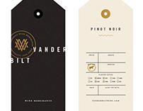 Early Vanderbilt Wine Merchants label explore
