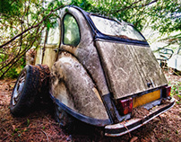 I'm poor lonesome 2CV