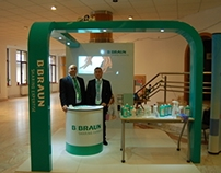 BBRAUN exhibition stand design