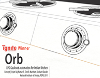 Orb | LPG Gas knob automation for Indian kitchen