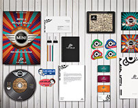 Mingle Music Agency Corporate Identity