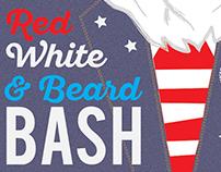 Red, White & Beard Bash