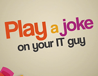 BRONZE PIAF 2013: Play a joke on IT guy