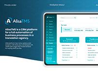 AlisaTMS - CRM system