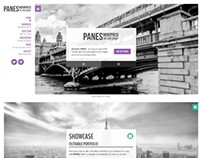 Panes, WordPress Responsive OnePage Theme