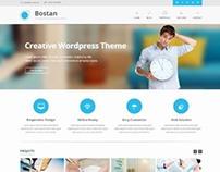 Bostan, WordPress Retina Ready Business Theme