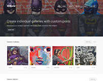 Wave, WordPress Responsive Artists Theme
