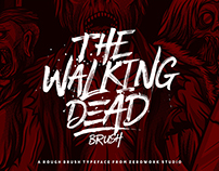 Walking Dead Brush Typeface