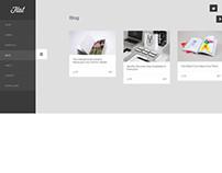 Flat, Premium WordPress Responsive Portfolio Theme