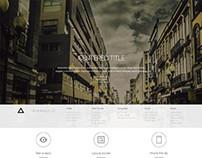 Triangulo, WordPress Creative Photographers Portfolio